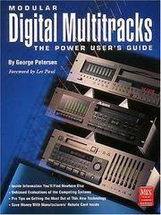 Modular Digital Multitracks Power User's Guide (Mix Pro Audio Series)