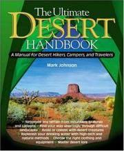 The Ultimate Desert Handbook