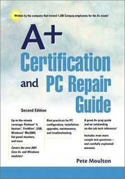 A+ Certification and PC Repair Guide (2nd Edition)