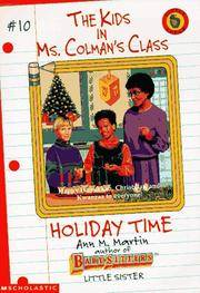 image of Holiday Time (Kids in Ms. Colman's Class)