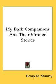My Dark Companions and Their Strange Stories