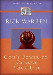 image of POWER TO CHANGE YOUR LIFE THE (Living with Purpose)