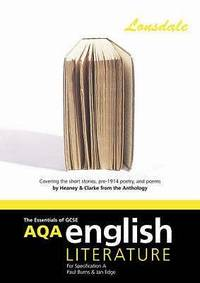 AQA GCSE English Literature a Short Stories Pre-1914 Poetry: Heaney and Clarke (AQA English Lit)