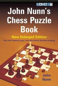 image of John Nunn's Chess Puzzle Book