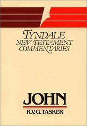 The Gospel According to St. John: An Introduction and Commentary (Tyndale Bible Commentaries Series)