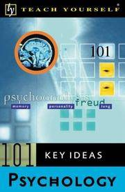 Teach Yourself 101 Key Ideas: Psychology