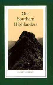 image of Our Southern Highlanders: Introduction By George Ellison