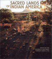 Sacred Lands of Indian America - First Edition Hardcover in Dust Wrapper.