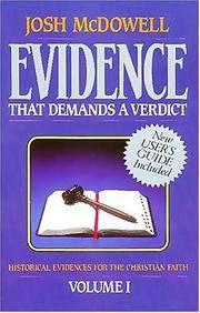 image of Evidence That Demands a Verdict
