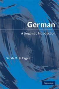 German: A Linguistic Introduction