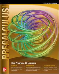 Glencoe Precalculus: Common Core Teacher Edition by Carter ...