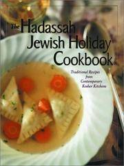 Hadassah Jewish Holiday Cookbook