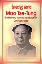 image of Selected Works of Mao Tse-Tung