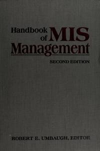 Handbook of MIS Management.  Second Edition