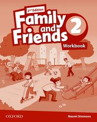 Family And Friends: Level 2: Workbook - Used Books