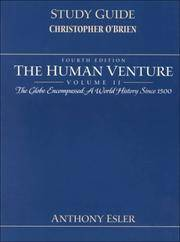 image of HUMAN VENTURE - THE GLOBE ENCOMPASSED, A WORLD HISTORY