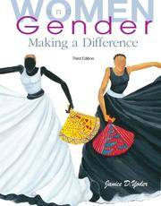 Women and Gender: Making a Difference (3rd Edition)
