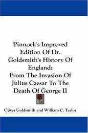 Pinnock's Improved Edition Of Dr Goldsmith's History Of England