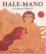 Hale-Mano A Legend of Hawaii