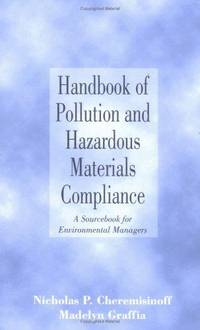 HANDBOOK OF POLLUTION AND HAZARDOUS MATERIALS COMPLIANCE