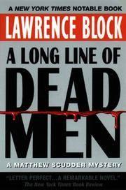 image of A Long Line of Dead Men: A Matthew Scudder Mystery