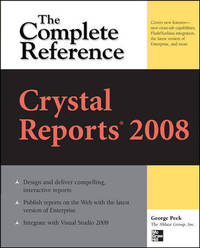image of Crystal Reports 2008: The Complete Reference