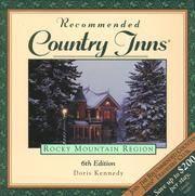 Recommended Country Inns Rocky Mountain Region  Colorado, Idaho, Montana,  Nevada, Utah, Wyoming