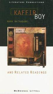 Kaffir Boy And Related Readings