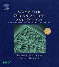 image of Computer Organization and Design