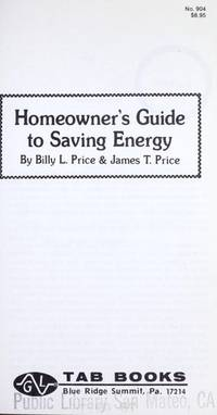 Homeowner''s guide to saving energy