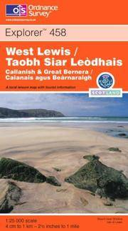 West Lewis/Taobh Siar Leodhais (Explorer Maps) by Ordnance Survey - Paperback - 2003-02-27 - from Ergodebooks and Biblio.com