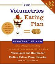 The Volumetrics Eating Plan CD
