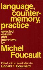 Language, Counter-Memory, Practice: Selected Essays and Interviews (Cornell Paperbacks)