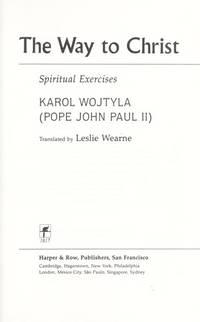 THE WAY TO CHRIST Spiritual Exercises