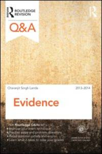 Q&A Evidence 2013-2014 (Questions and Answers)