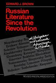 image of Russian Literature Since the Revolution