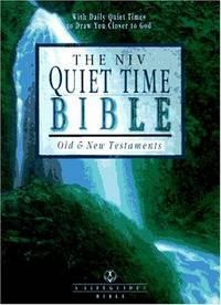 The NIV Quiet Time Bible: New International Version (Lifeguide Bible)