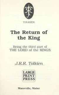 image of The Return of the King (Lord of the Rings, 3)