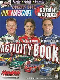 NASCAR Hendricks Motorsports Activity Book