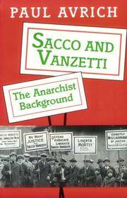 Sacco and Vanzetti by  Paul Avrich - Paperback - reprint - 1996 - from Monroe Street Books (SKU: 456802)