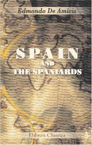 Spain and The Spaniards