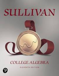 College Algebra (11th Edition)