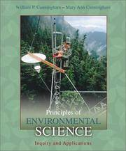 image of Principles of Environmental Science: Inquiry & Applications w/OLC Password Code Card