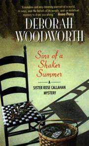 Sins of a Shaker Summer - Sister Rose Callahan Mystery