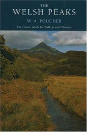 image of Welsh Peaks (W a Pouchers Guides)