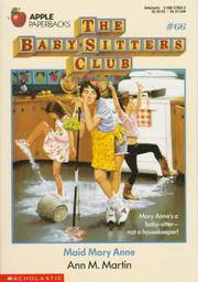 image of Maid Mary Anne (Baby-Sitters Club #66)