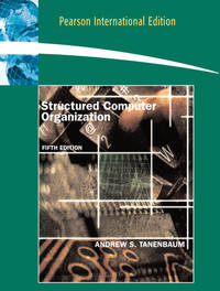 STRUCTURED COMPUTER ORGANIZATION 5ED (PB 2006)
