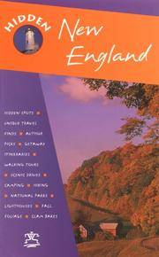 Hidden New England (Hidden New England, 6th ed)