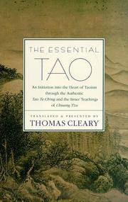 The Essential Tao by Translator-Thomas F. Cleary - Hardcover - 1998-01 - from Ergodebooks and Biblio.com