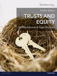 image of Trusts and Equity (Foundation Studies in Law Series)